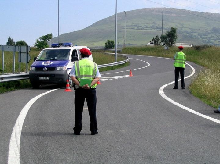 Habrá 49 campañas de control de tráfico en el País Vasco durante este 2020