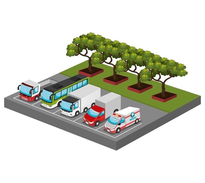 Áreas de descanso para transportistas en las principales rutas en España. Descubre las mejores zonas para dormir con tu camión.