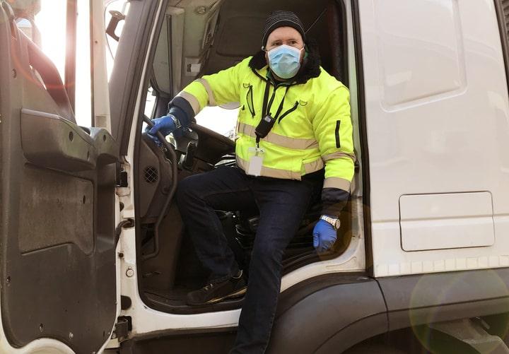 Belgica exige una declaración sanitaria a los transportistas que entren en su territorio