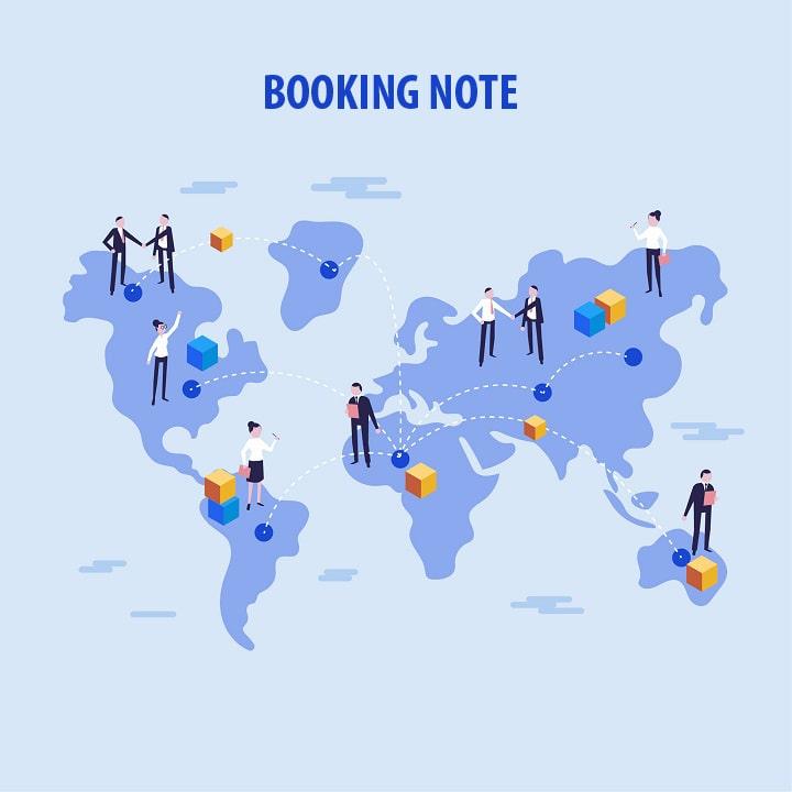 Booking note o nota de embarque