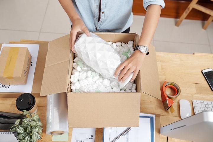 Como enviar un paquete frágil