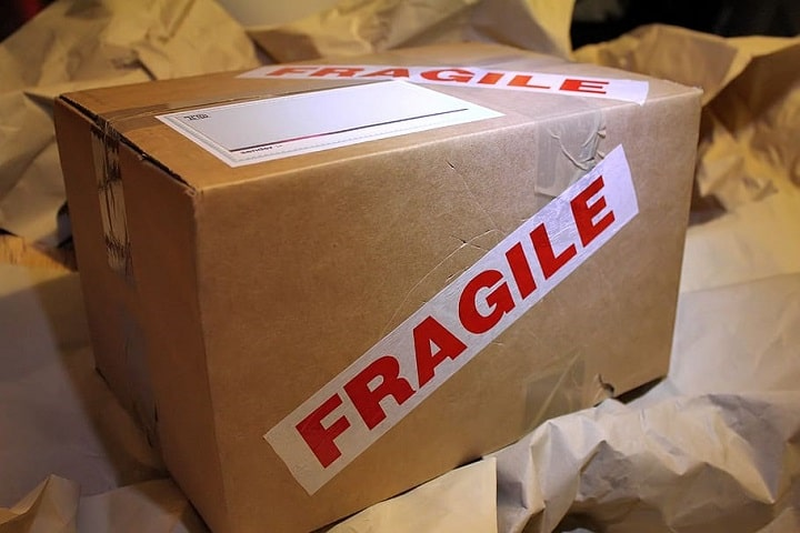 Etiquetas para el envio de paquetes