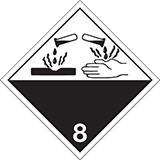 mercancias peligrosas corrosivas