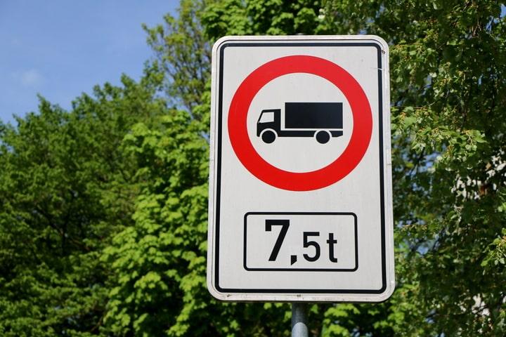 Restricciones a camiones hasta el 22 de abril