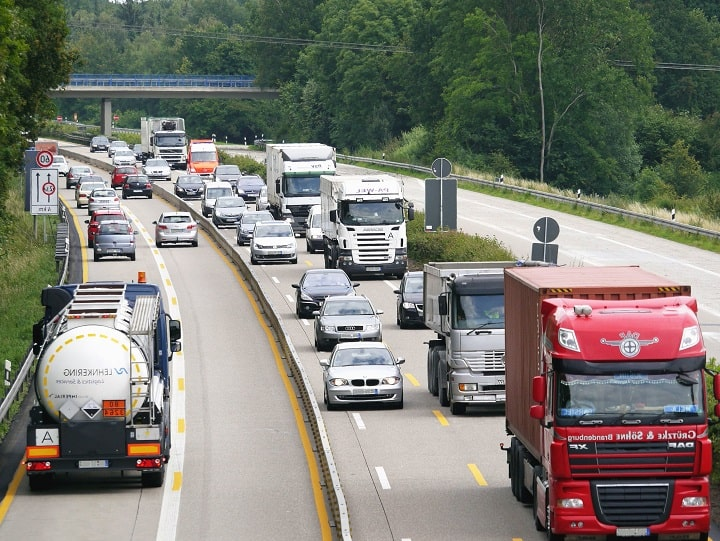 Restricciones de circulación para camiones hasta el 6 de febrero