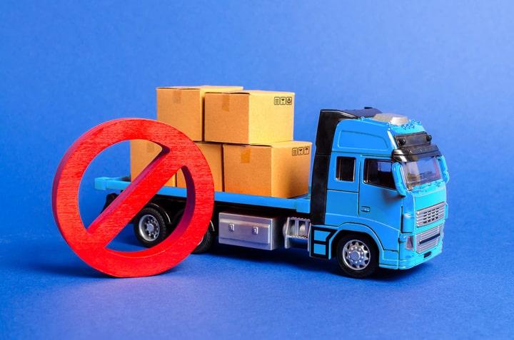 Restricciones de circulación a camiones en el País Vasco para 2021