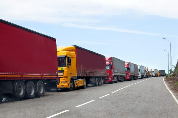 Temor de los transportistas a no poder circular por Reino Unido a partir del 1 de enero