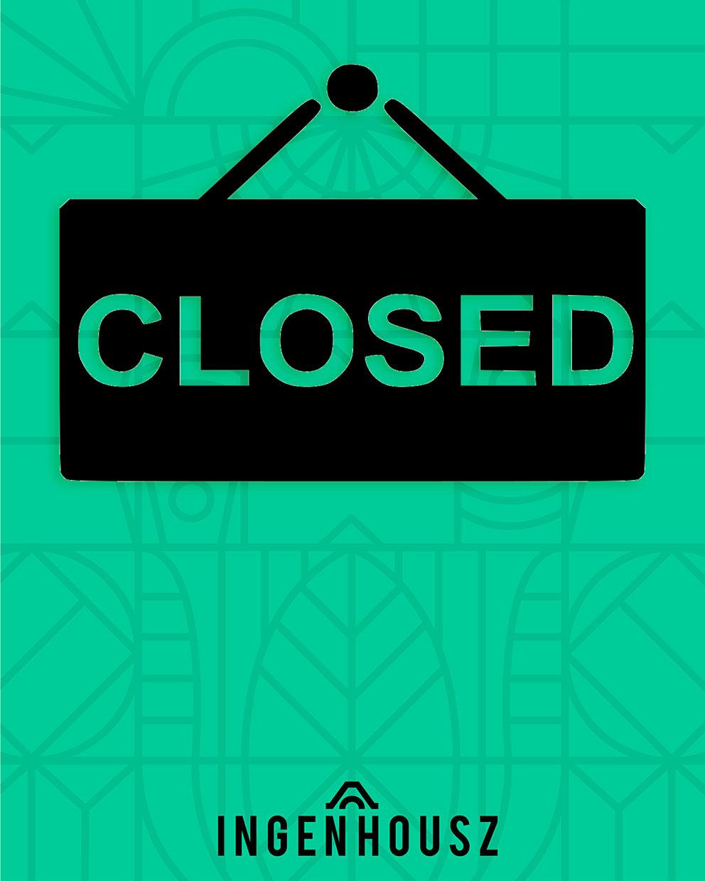 Closed maart