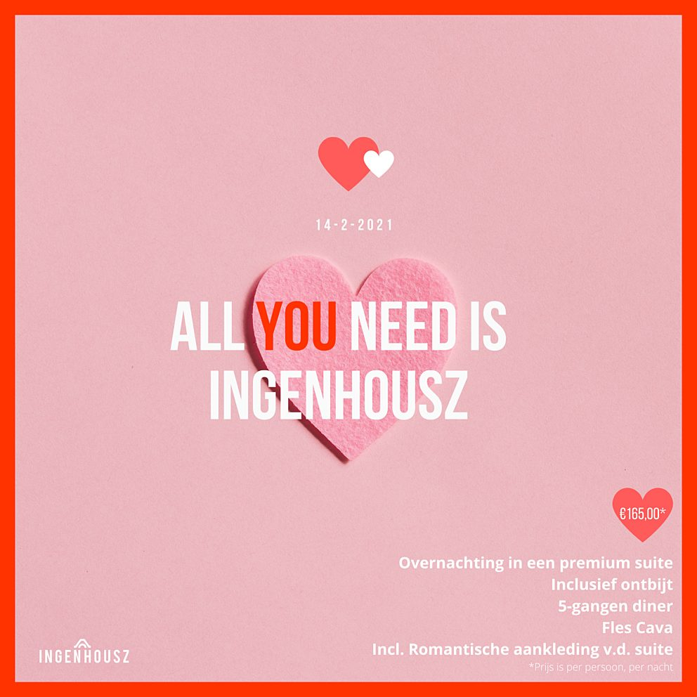 Celebrate Love the New School way at Ingenhousz tijdens Valentijnsdag