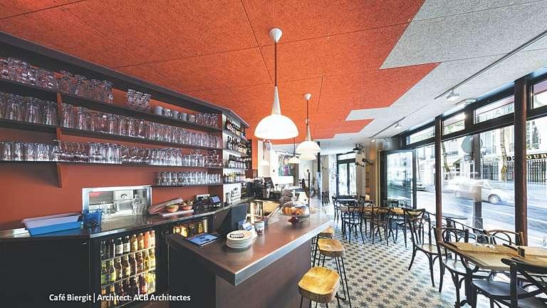 Home café biergit architect acb architectes