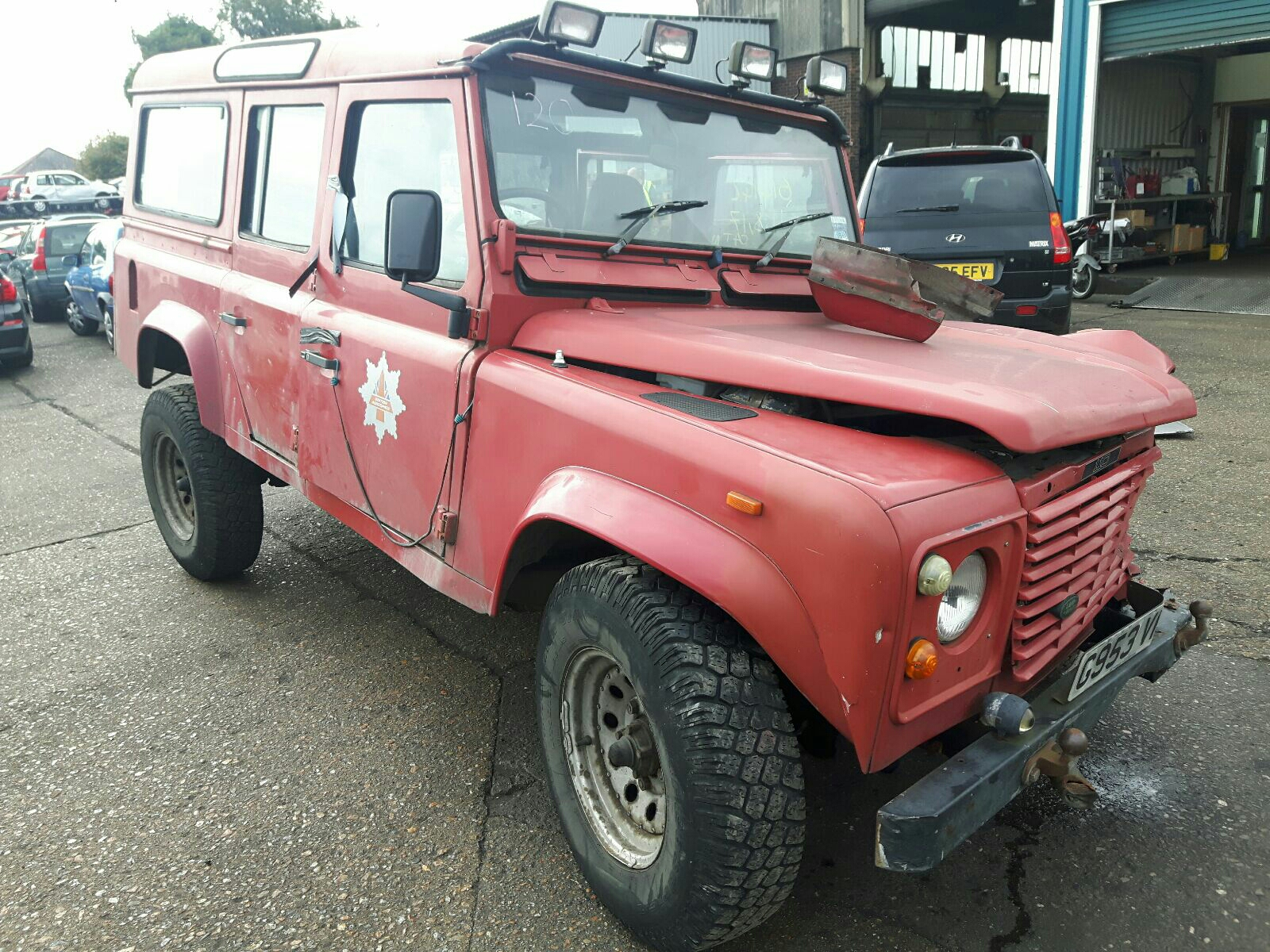 LAND ROVER 110 4CYL COUNTY SW DT 4378193