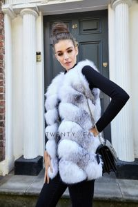 Cross Fox Fur Gilet