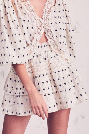 LOVESHACKFANCY Taylor Skirt