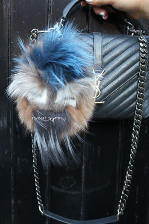 Monster Real Fur Pom Pom