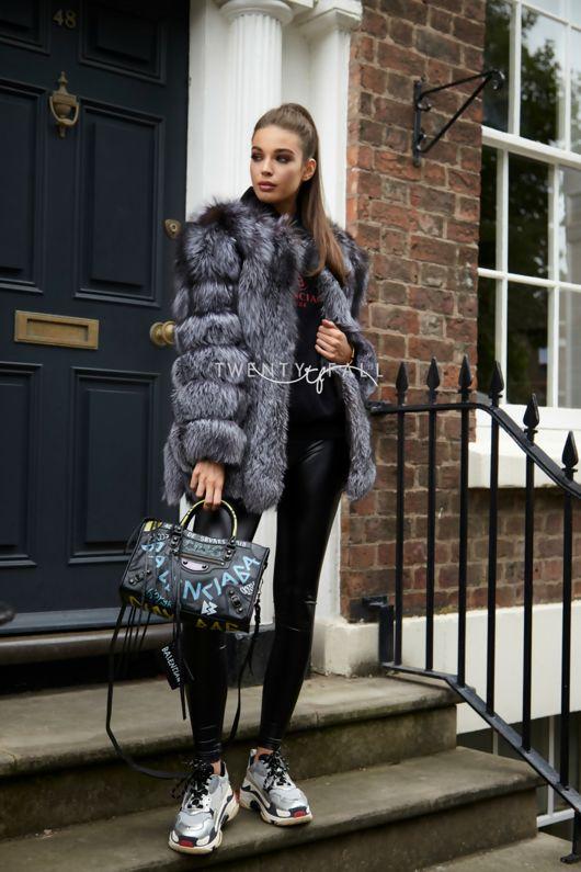 074870c7d4d Silver Fox Fur Coat