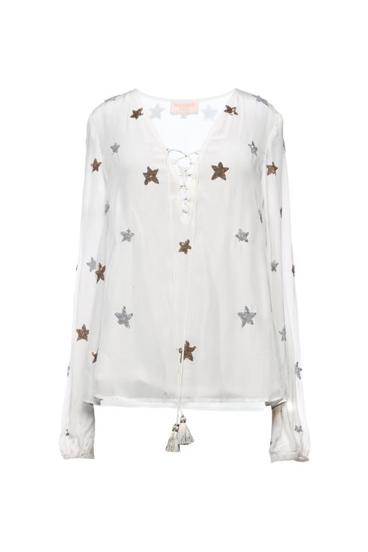 Rococo Sand Astral White Top