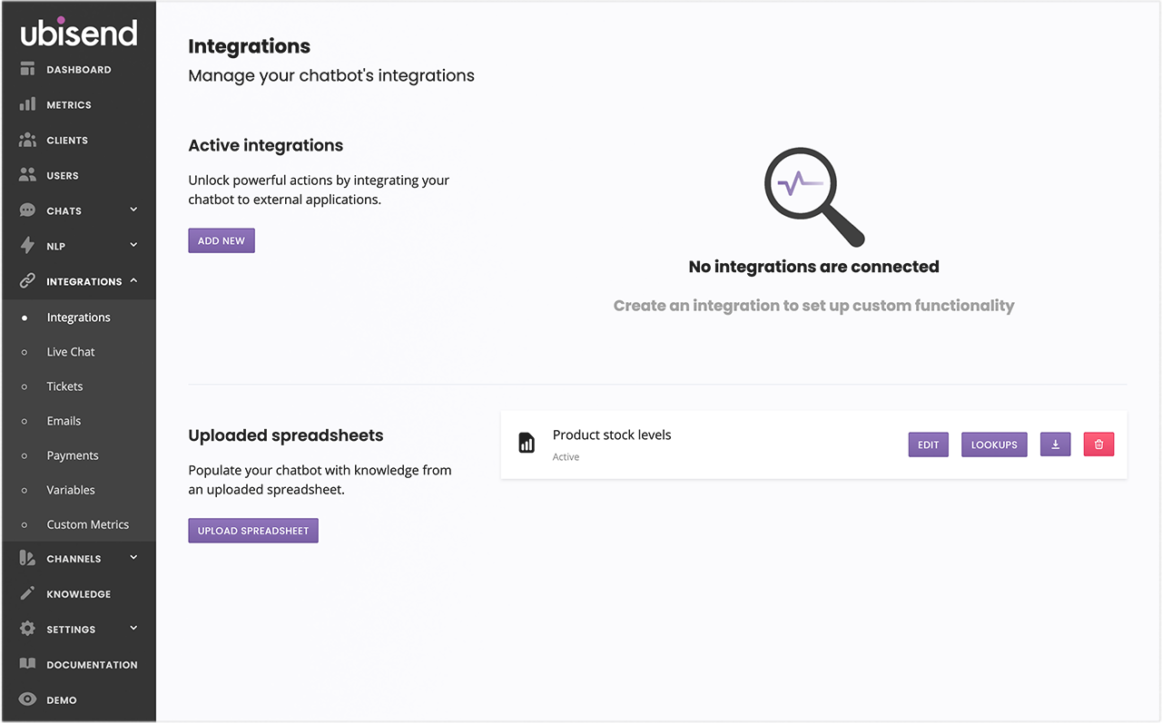 Bypass the need for complex integrations