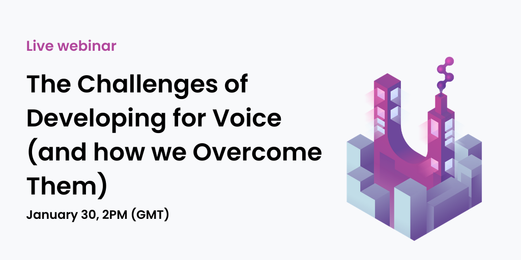 challenges of voice technology webinar