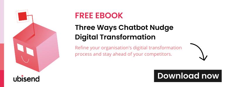 chatbots nudge digital transformation ebook