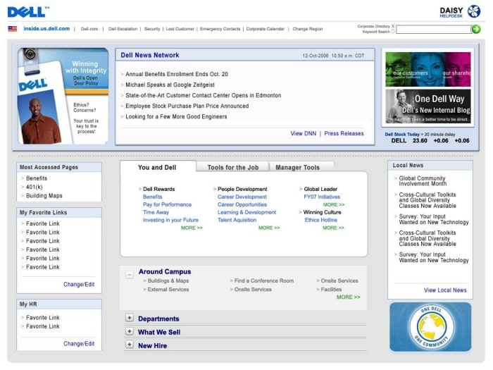 dell intranet 2007