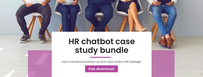 hr chatbot case studies bundle