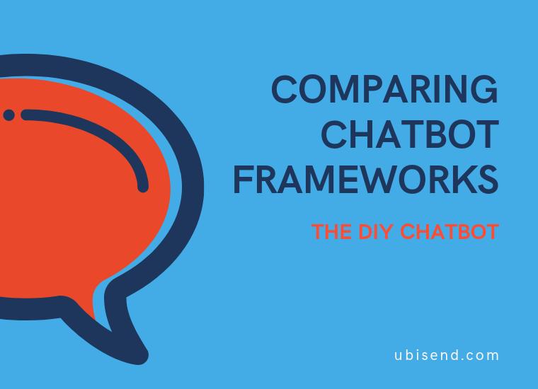 chatbot framework diy chatbot