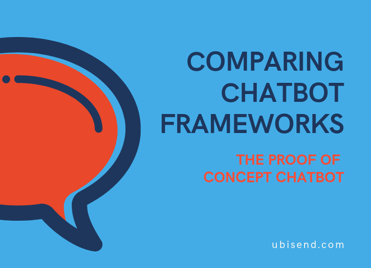 chatbot framework proof of concept chatbot