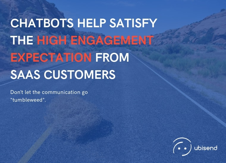 chatbots for saas high engagement