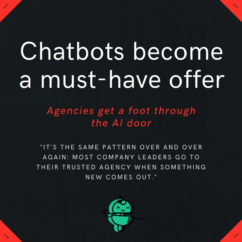 chatbots must have agency offer