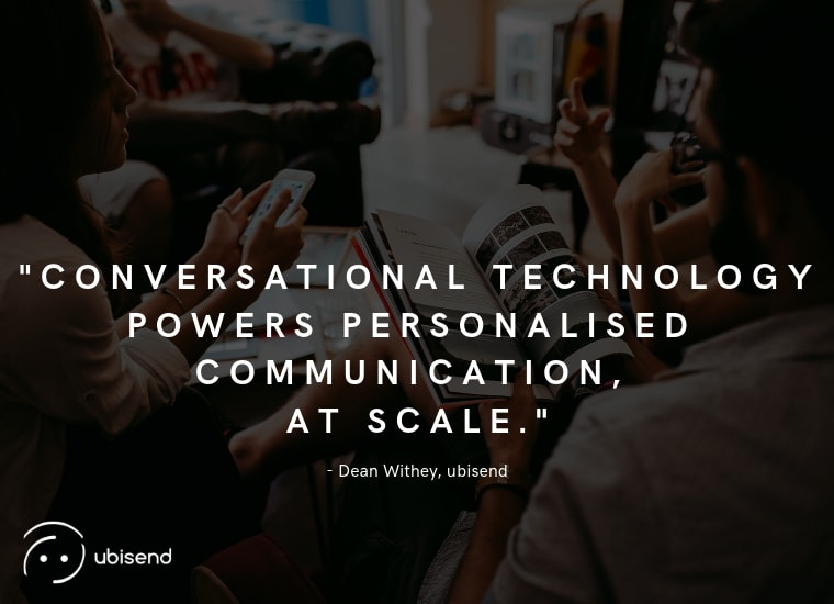 conversational technology ubisend quote