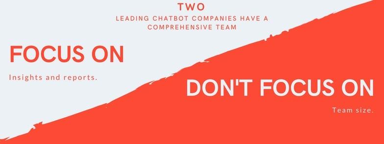 2 leading chatbot companies comprehensive team