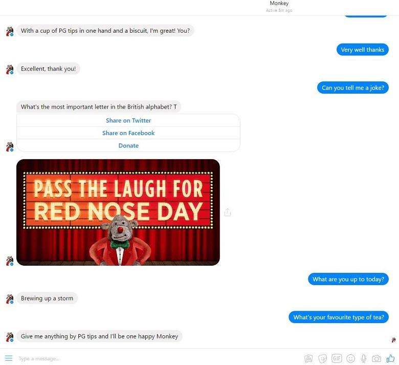 econsultancy pgtips ubisend chatbot feedback