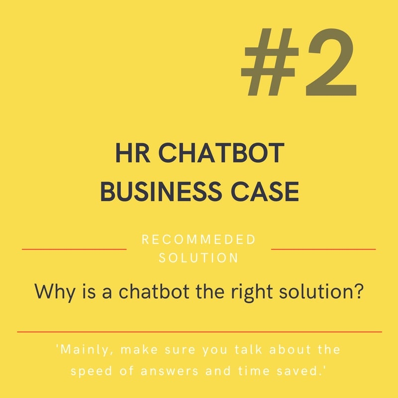 chatbot for hr department recommendation
