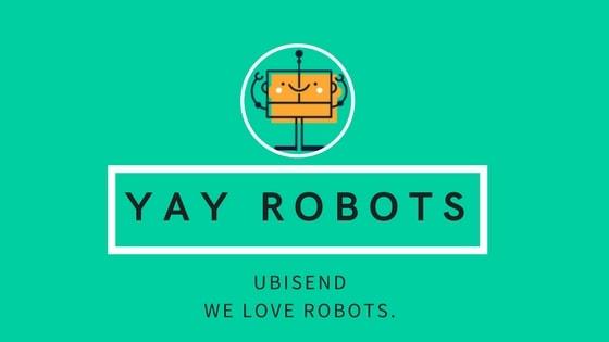 ubisend we love robots