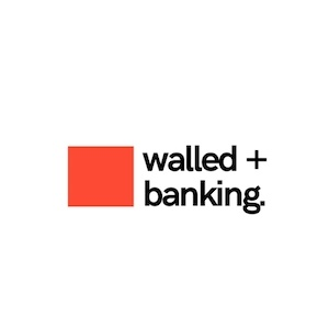 walled fake company logo