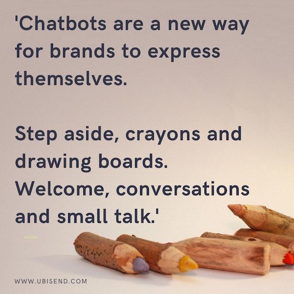 chatbots branding exercise