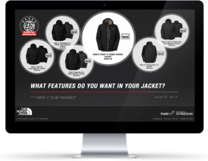 The North Face Watson chatbot