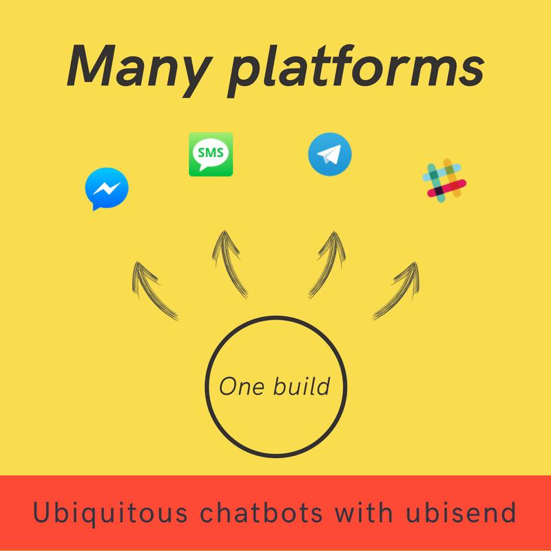 ubisend ubiquitous chatbot