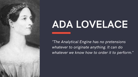 ada lovelace chatbot quote