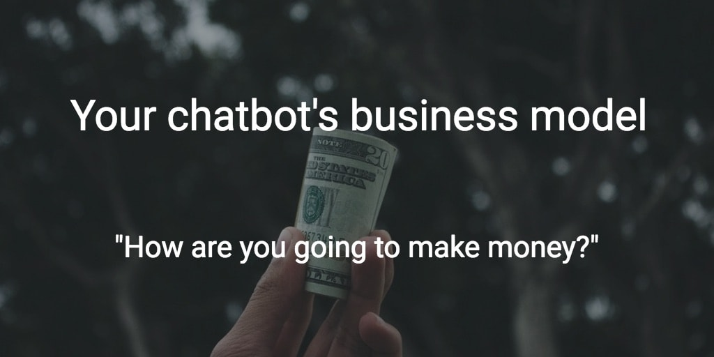 chatbot business model