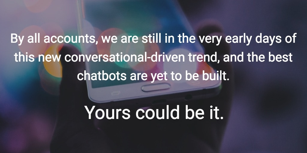 chatbot early days