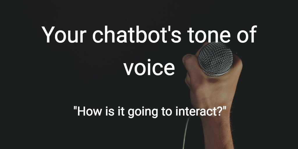 chatbot tone of voice