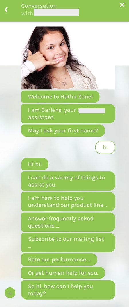 shopify chatbot spam