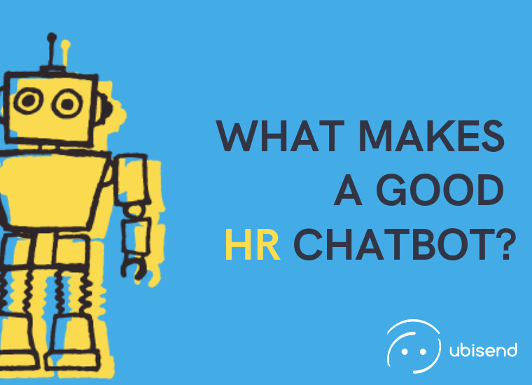 what makes a good HR chatbot