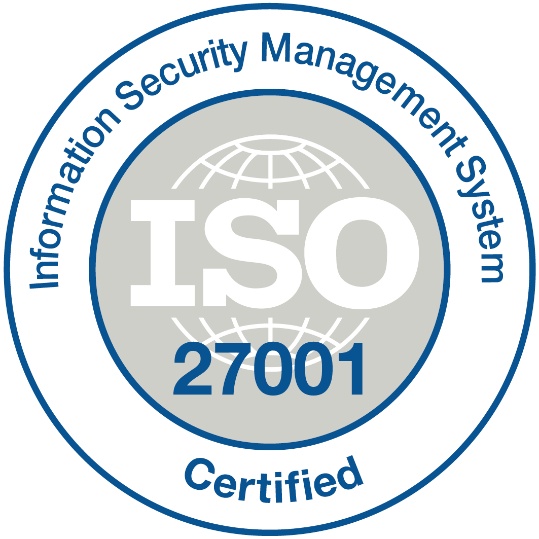 ubisend ISO27001 certification