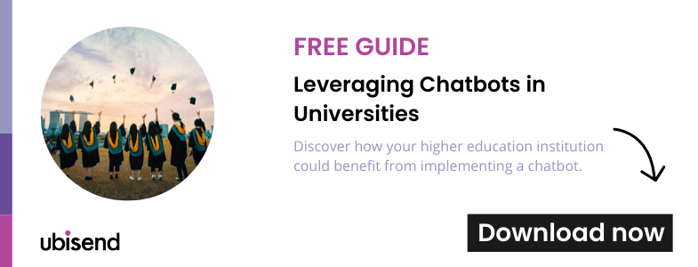 guide to chatbots in universities