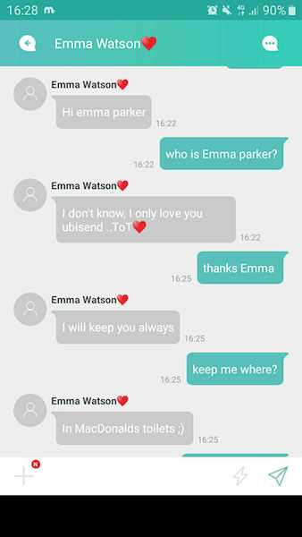 mydol emma watson weird chatbot