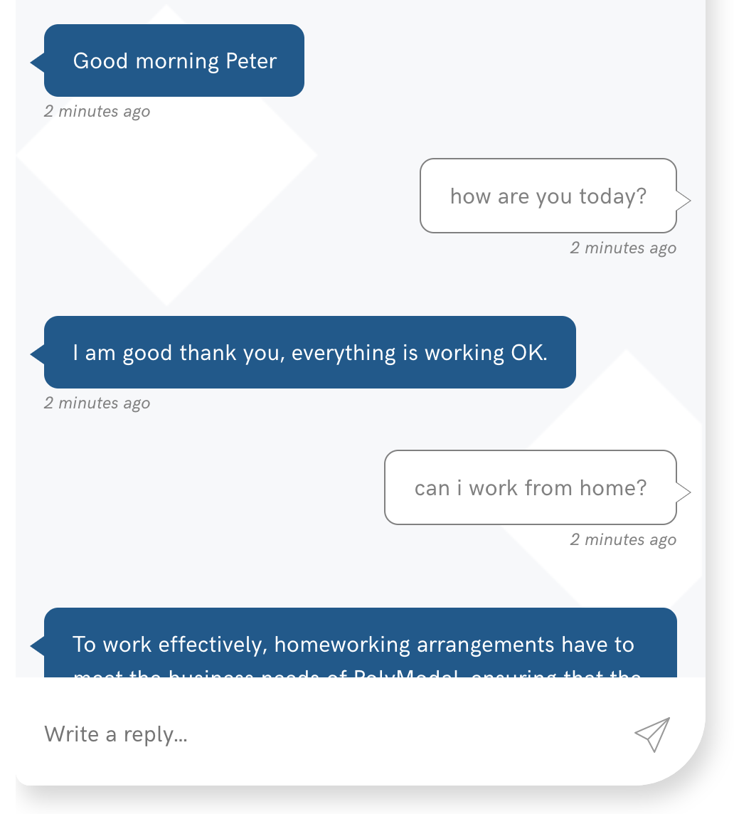 one HR chatbot