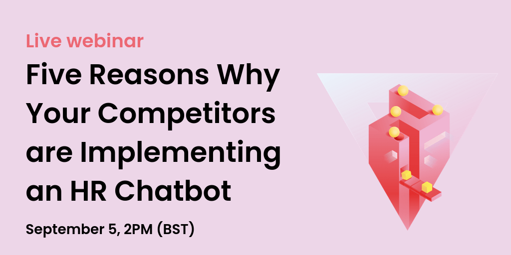why competitors implement hr chatbots webinar
