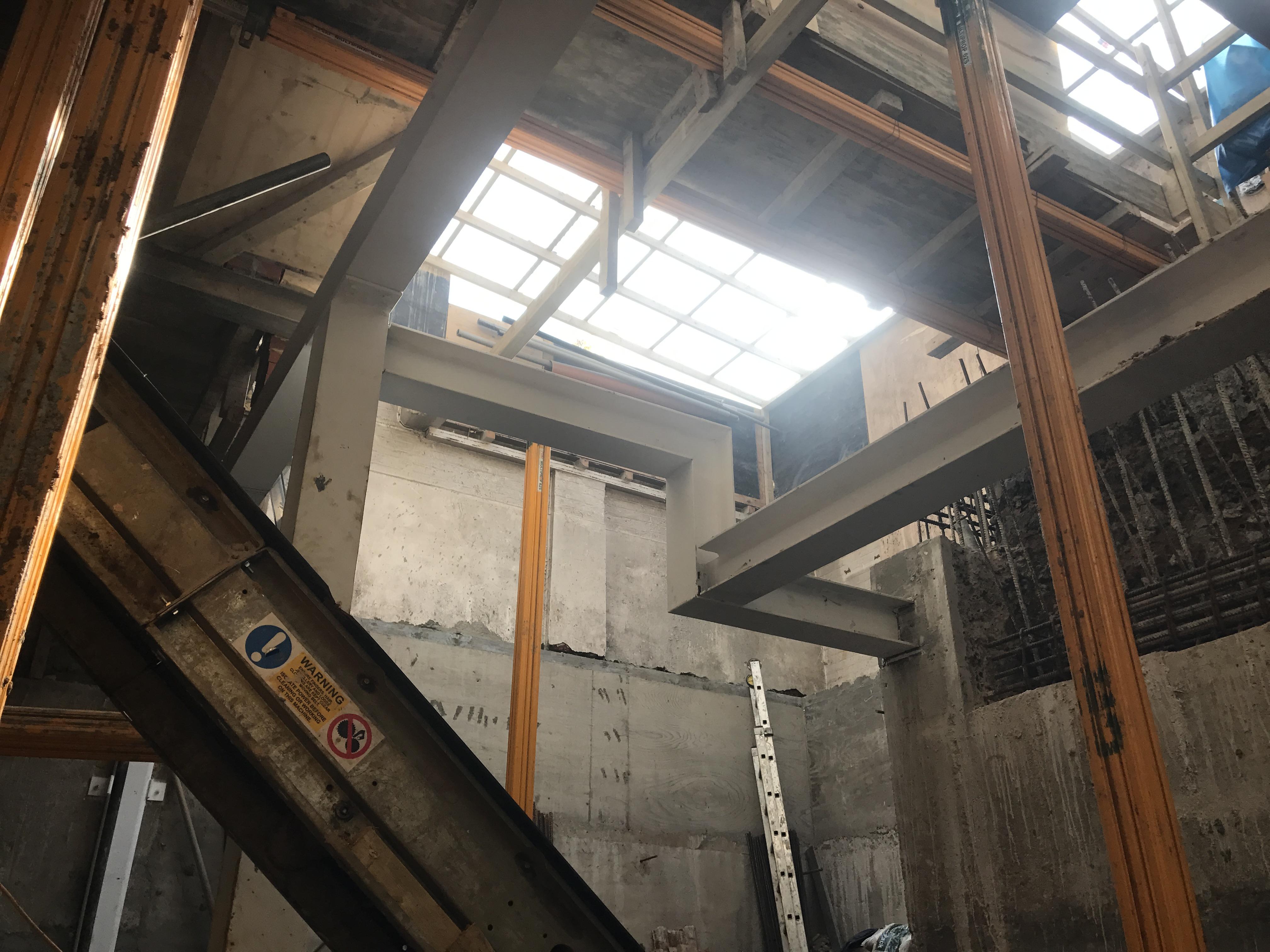 58 Campden Street Basement Works